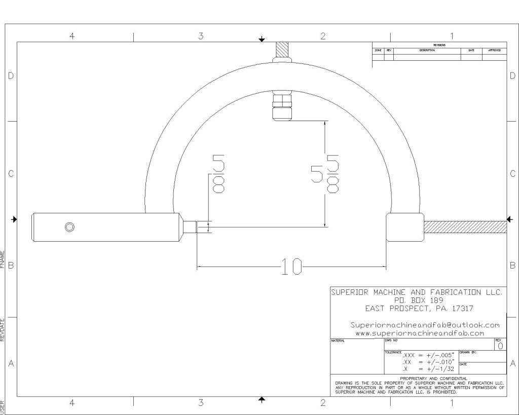 SMAF-001-ANSI C Title Block