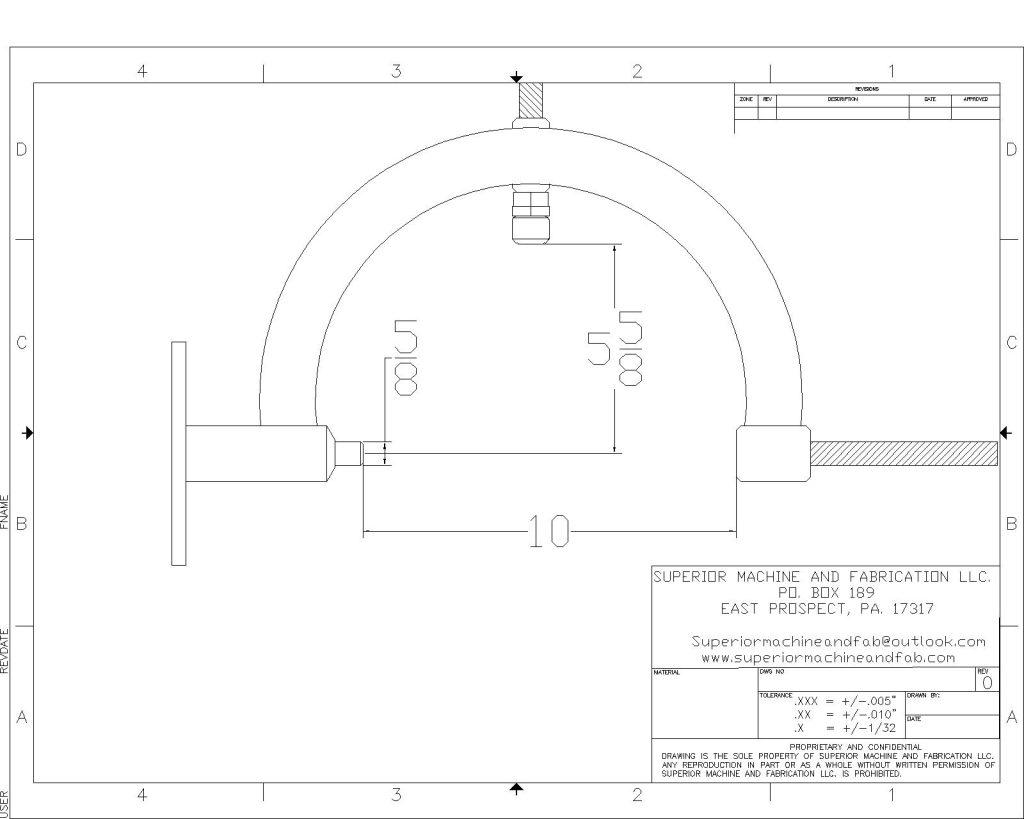 SMAF-003-ANSI C Title Block